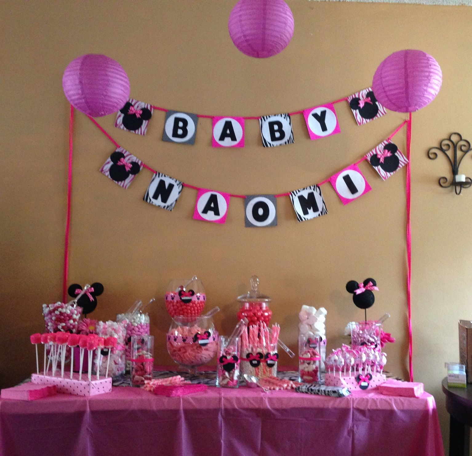 Pinterest discover and save creative ideas for Baby minnie mouse decoration ideas