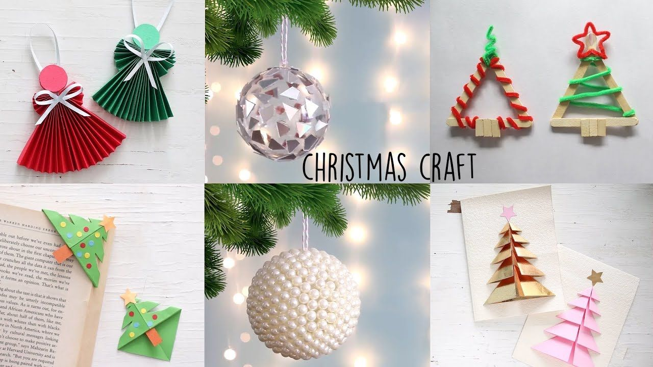 Christmas Craft Ideas DIY Christmas Room Descor diycrafts
