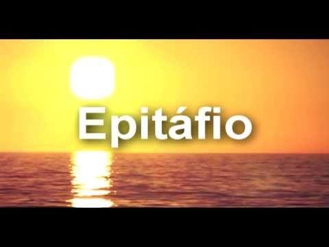 Poema Epitáfio - Vinicius de Moraes