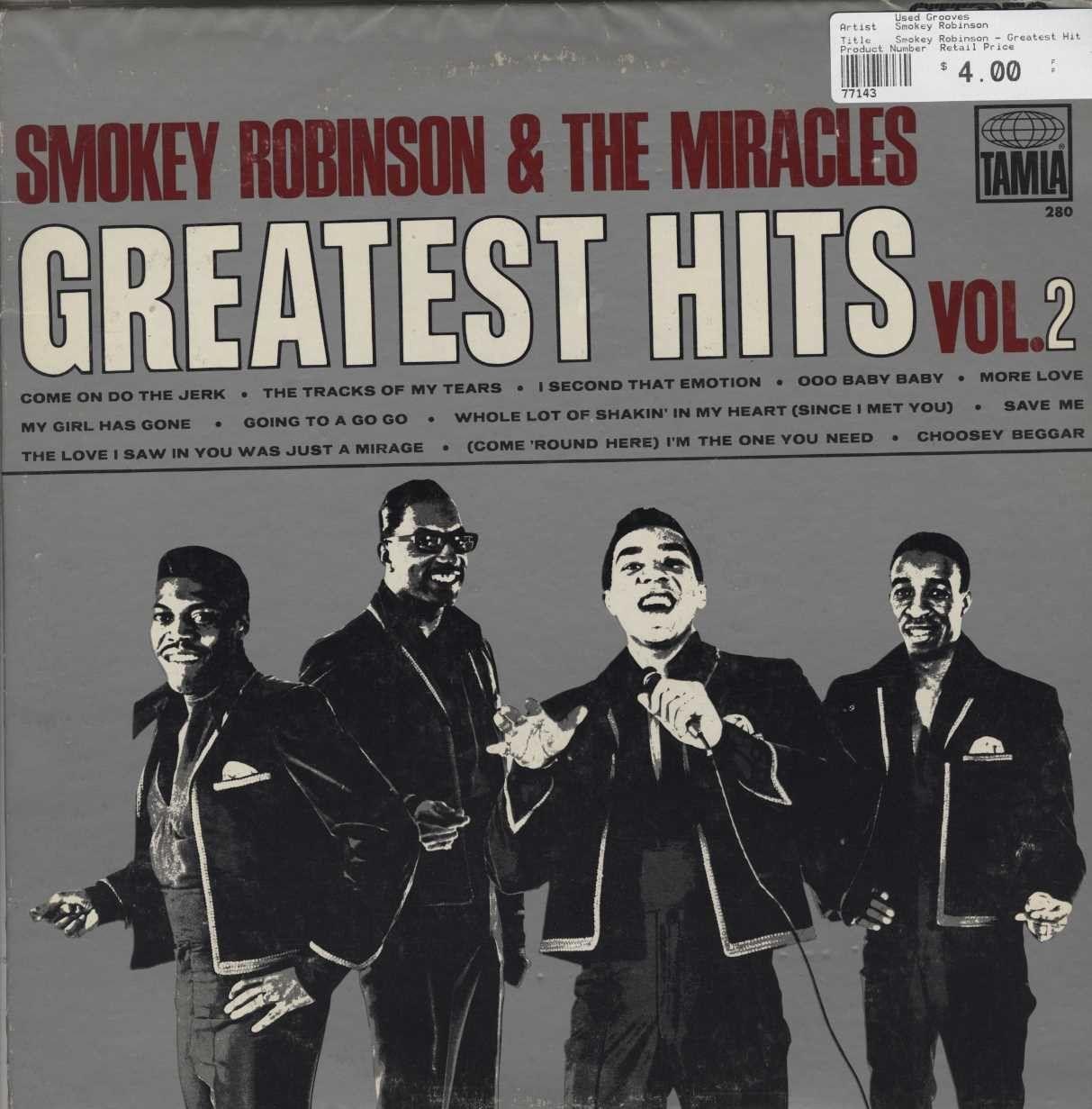 Smokey Robinson Greatest Hits Vol. 2 Smokey robinson
