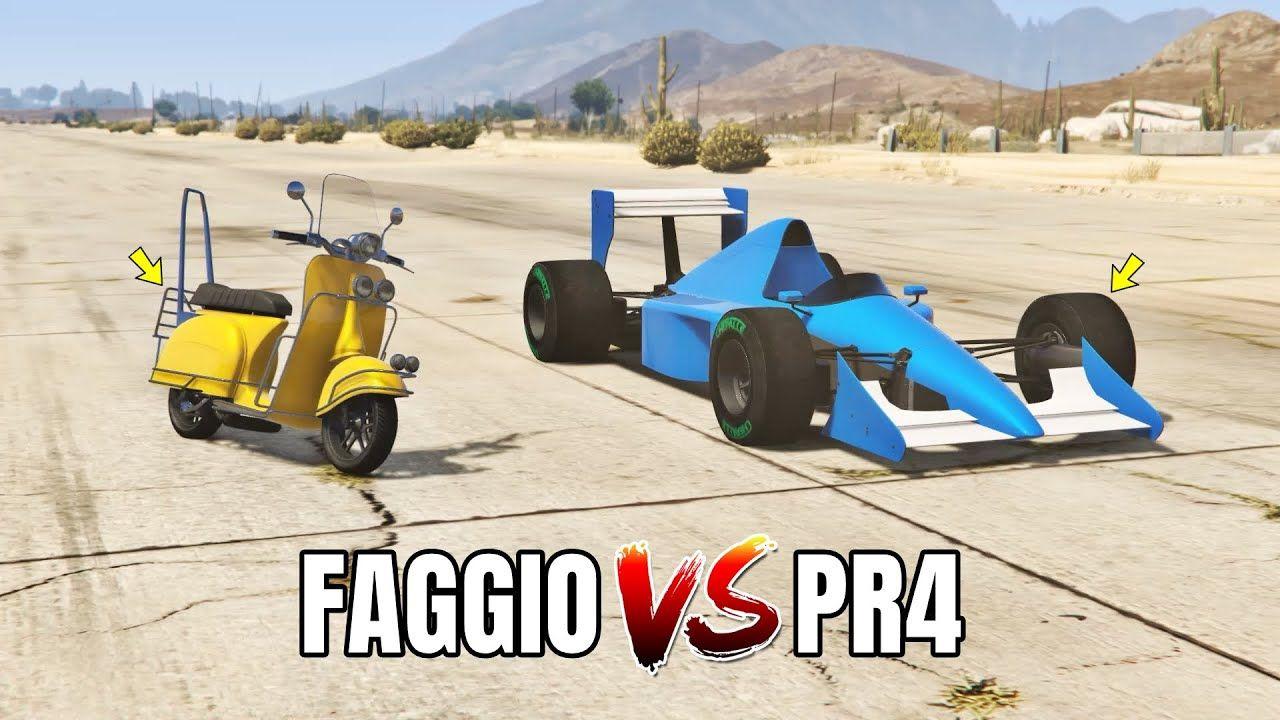Gta 5 Online Progen Pr4 Vs Faggio Which Is Fastest In 2020