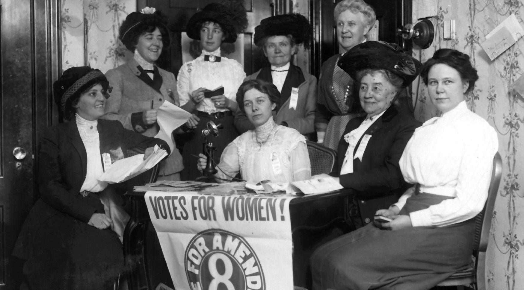 Women S Suffrage Movement C S