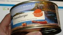 Canned cheeseburger. No comment.