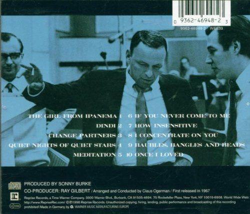 Frank Sinatra Antonio Carlos Jobim Francis Albert Sinatra