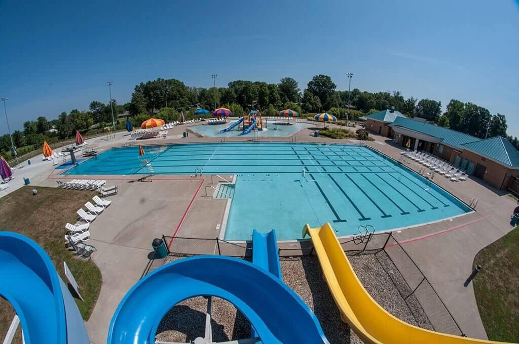 Memorial Park Family Aquatic Center logo