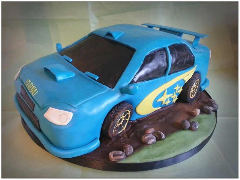 75 best Subaru cake images on Pinterest Subaru Car cakes and