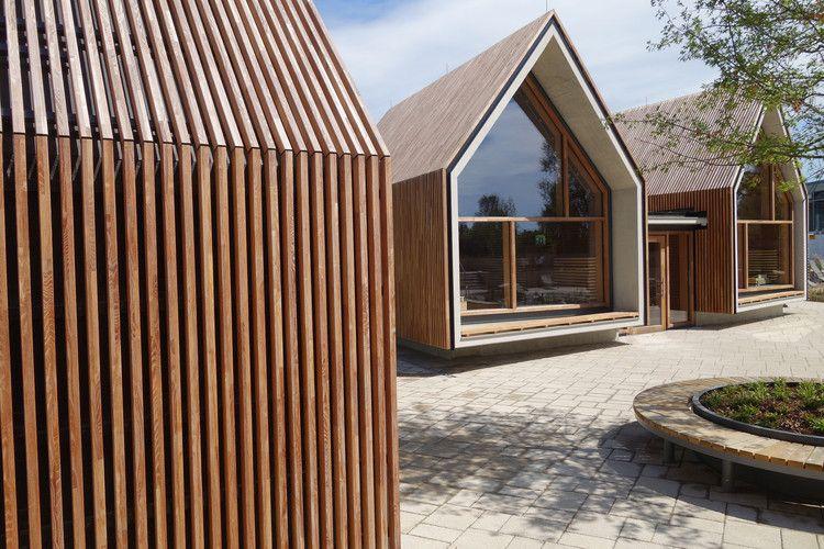 Photo of Jordanbad Sauna Village / Jeschke Architecture & Planning