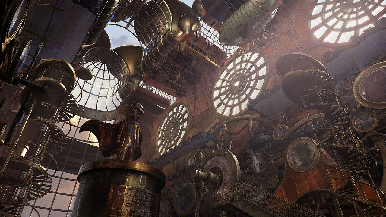 Pin by Shiroi on ﻻ Environment Concept/Ref   Steampunk ...