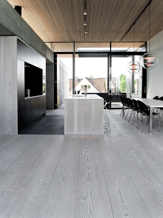 holzdielen grau   Loft-11-Boden   Pinterest   Holzdielen, Grau und Küche