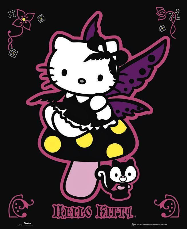HELLO KITTY A3 GLOSSY POSTER
