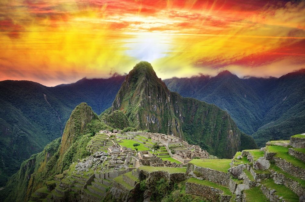 Image result for machu picchu at sunset Pinterest