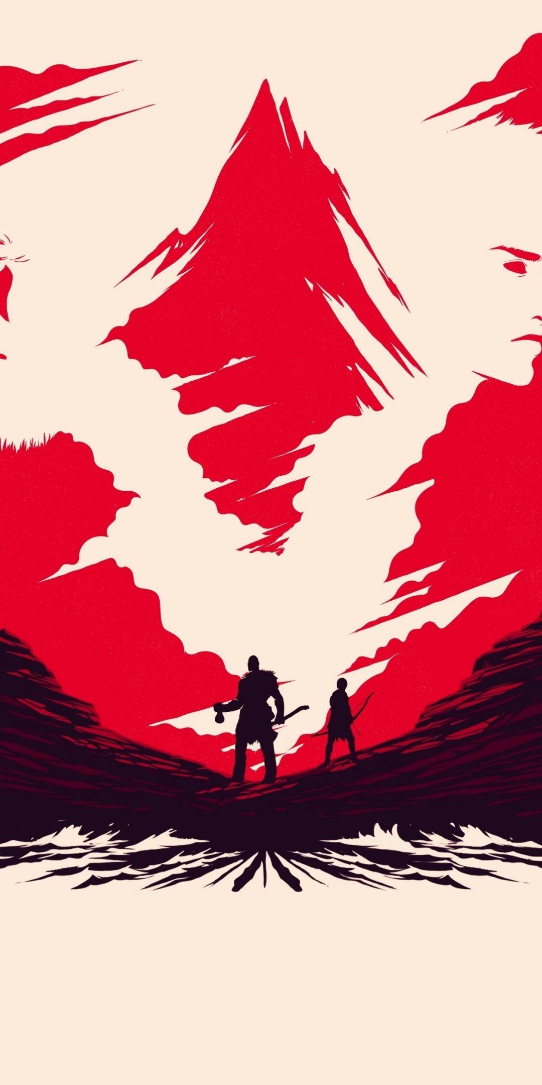 Valley Video Game God Of War Art 1080x2160 Wallpaper God Of War Kratos God Of War War Art