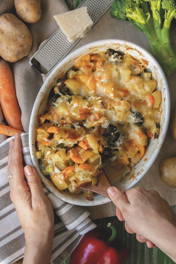 Cookinesi - Gemüsegratin - Schnell und einfach