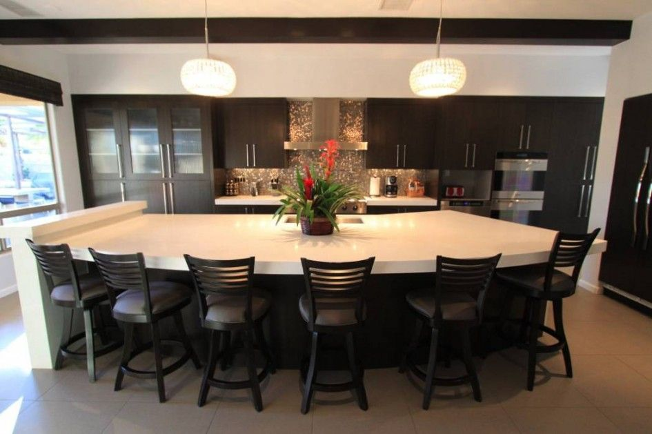 Magnetic Kitchen Island Seating Area For Large Kitchen Island Fascinating Kitchen Island Design With Seating Decorating Design