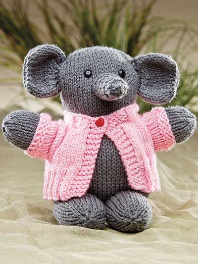 Doll Toy Knitting Downloads Zoo Animal Friends Knit And