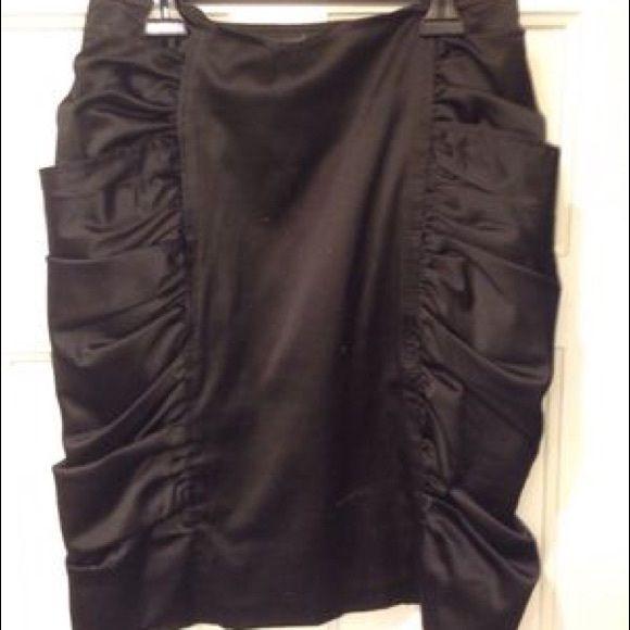 Sexy Black Skirt Medium -- Women's xxi skirt -- Black -- scrunched sides gives more feminine feel Skirts