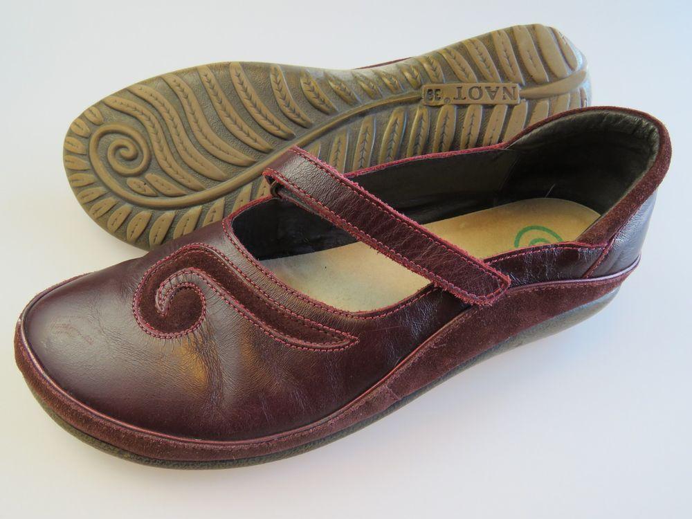 52e203adf59b NAOT Matai Swirl Mary Jane Red Leather Shoes Women s US Size 8 EU 39  Naot   MaryJanes