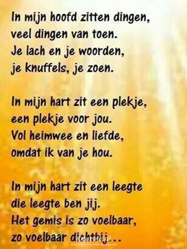 een gedicht van kaarsje.nl | grief rouw 1 - quotes, love quotes en