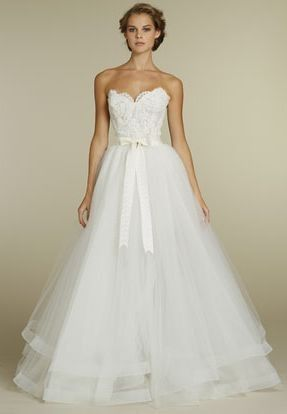 I would definitely wear this!  Gown for the wedding that converts to a short dress for the reception!