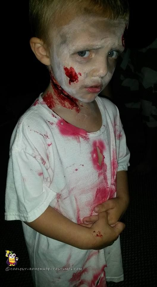 Last-Minute Zombie Costume for a Toddler... Coolest Homemade Costumes  sc 1 st  Pinterest & Last-Minute Zombie Costume for a Toddler | Pinterest | Homemade ...