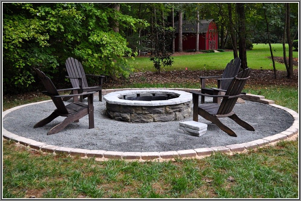 Best 25 Stone Fire Pit Kit Ideas On Pinterest Outdoor