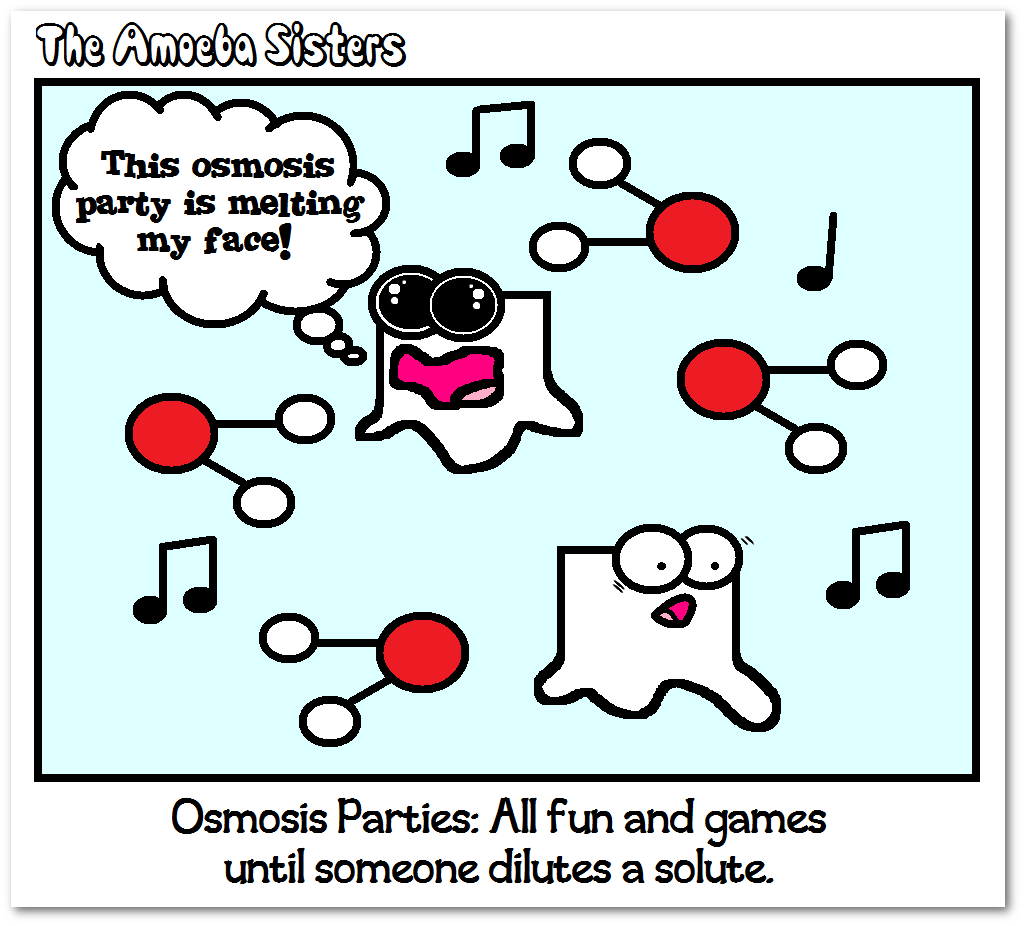Those Osmosis Parties Are Just Always Out Of Control