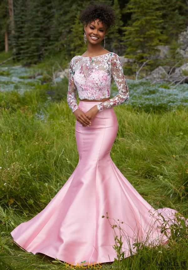 Sleeved Two Piece Mori Lee Dress 99104 | 2017 Mori Lee | Pinterest