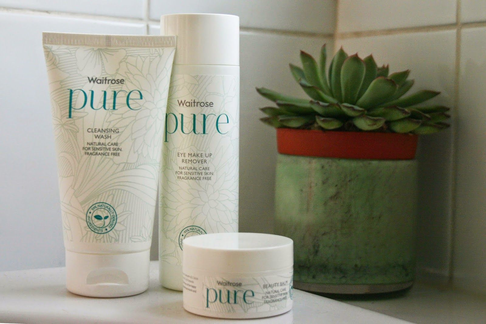 Articulate Artist Waitrose Pure Skincare for Sensitive