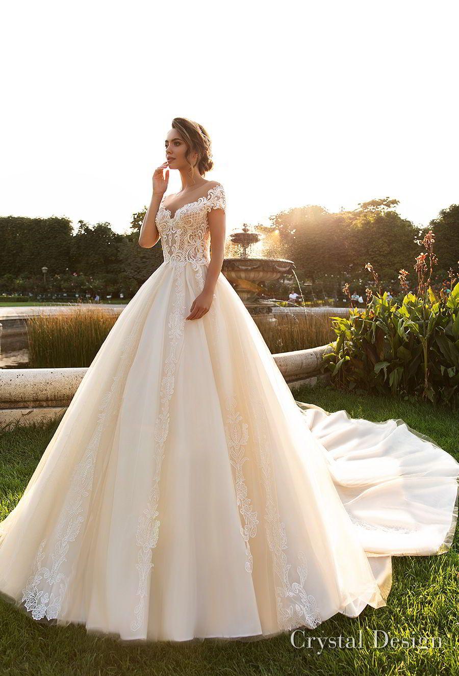 Crystal Design 2018 Wedding Dresses Royal Garden Haute Couture Bridal Collections Wedding Inspirasi Petite Wedding Dress Ball Gowns Wedding Bridal Wedding Dresses [ 1326 x 900 Pixel ]