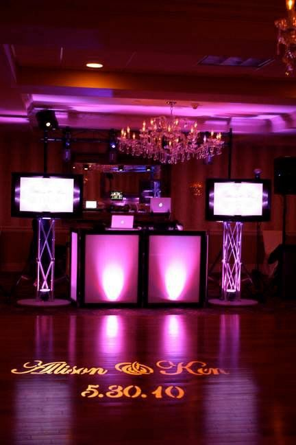 Pin By Unique Entertainment Dj On Wedding Reception Wedding Dj Setup Dj Setup Dj