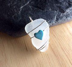 Photo of Sea Glass Pendant Beach Glass Jewelry P … – – # Pendant #Beachglassjewelry …
