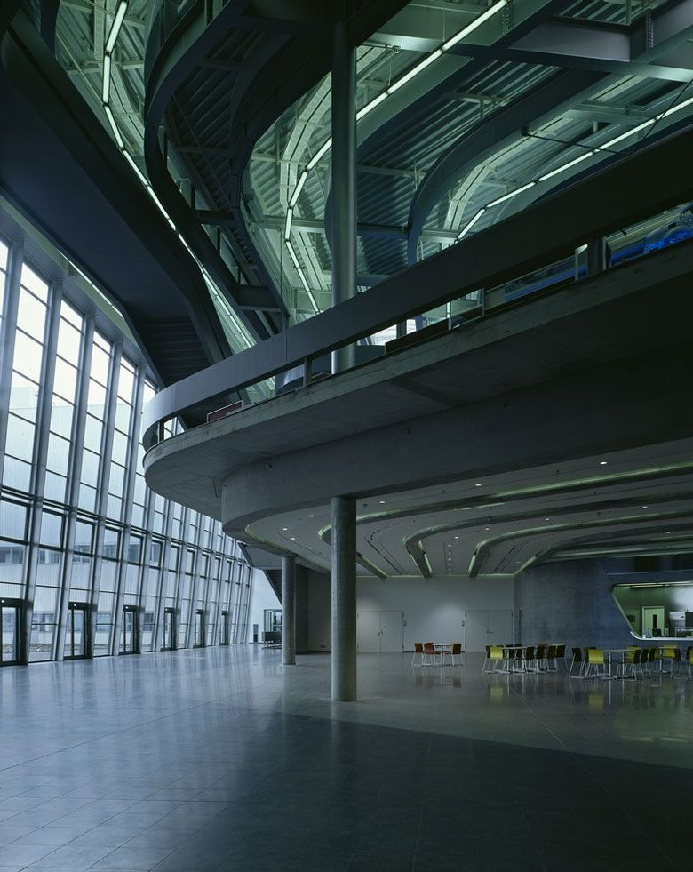 BMW Central Building in Leipzig, Germany by Zaha Hadid Architects