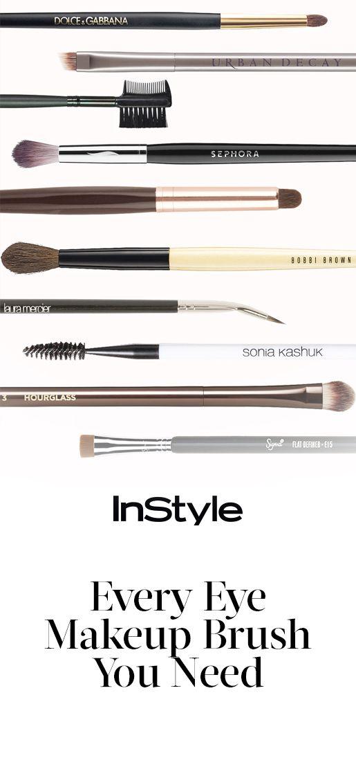 Eye Makeup Brush Guide Eye Makeup Brushes Guide Eye Makeup Brushes Makeup Brushes Guide