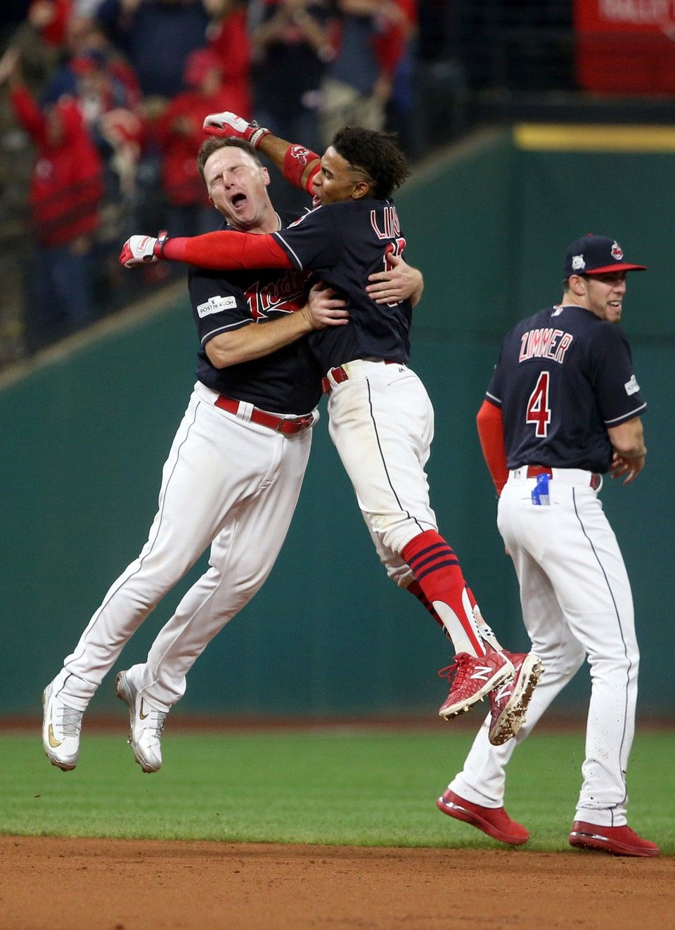 Indians 9 Yankees 8 Winners Losers From Alds Game 2 With Images Cleveland Indians Baseball Cleveland Indians Indians Baseball