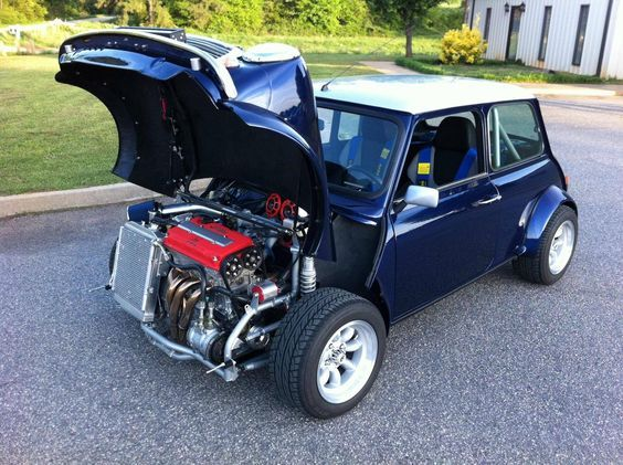 Mini With A B Series Honda Motor And Awd 1680x1255