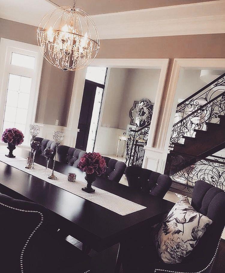 living room color schemes with black furniture%0A All black furniture in dark living room  iAMLexLethal   Interior Dreams    Pinterest   Dark living rooms  Black furniture and Living rooms