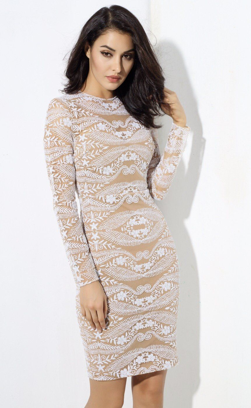 00e1ce96d3 Unapologetic Diva Black Lace Long Sleeve Mini Dress - Gomes Weine AG