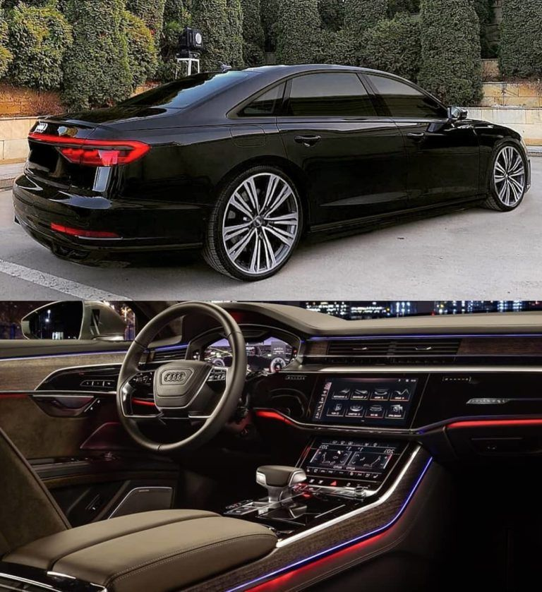 New Audi A8L 2019 Full Black? Via @superautos365 Follow
