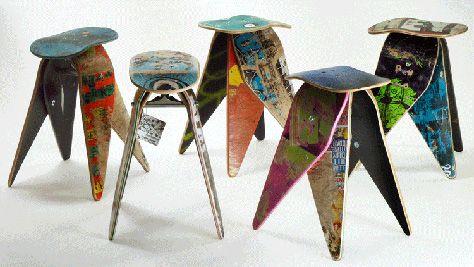 Muebles Muebles de Skates