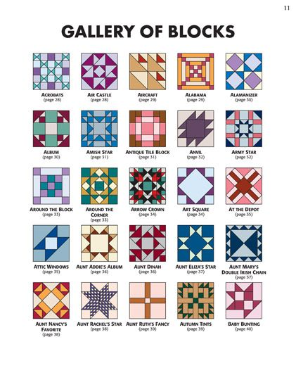 Martingale - 501 Rotary-Cut Quilt Blocks eBook