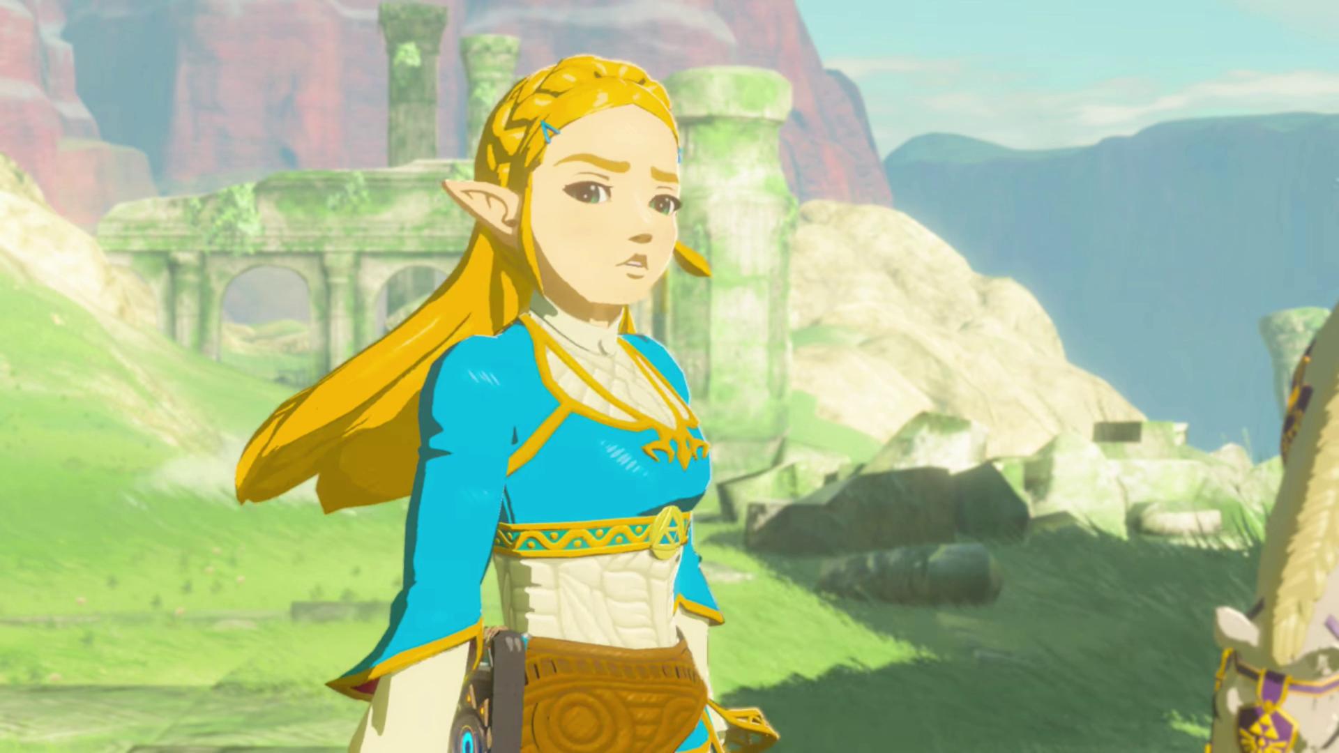 Zelda Ist Wütend Zelda Breathofthewild Screenshot Princess Zelda Art Zelda Art Breath Of The Wild