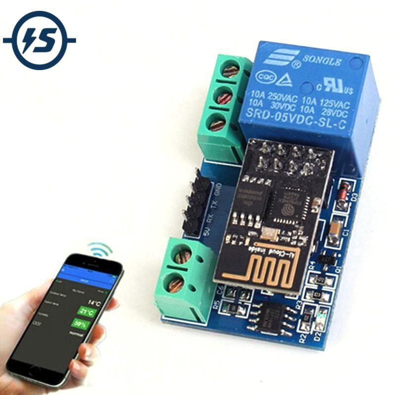 Esp8266 With Relay Module Iot Iot Switch Phone Smart Fridge