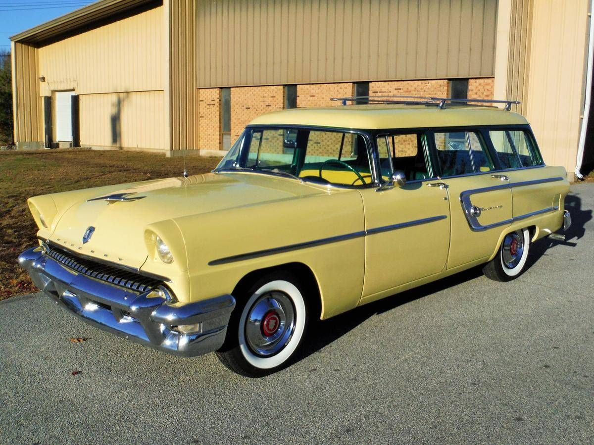 1955 mercury monterey country wagon for sale