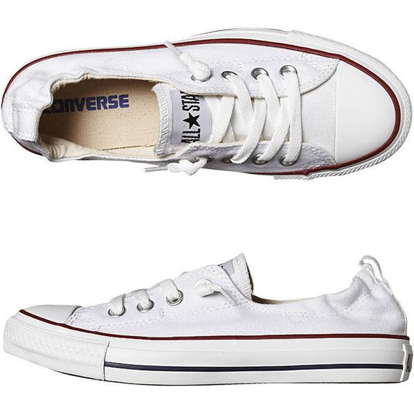 02a4e498f2e0 Converse Chuck Taylor All Star Shoreline Shoe -so- White ( 68) ❤ liked on  Polyvore featuring shoes
