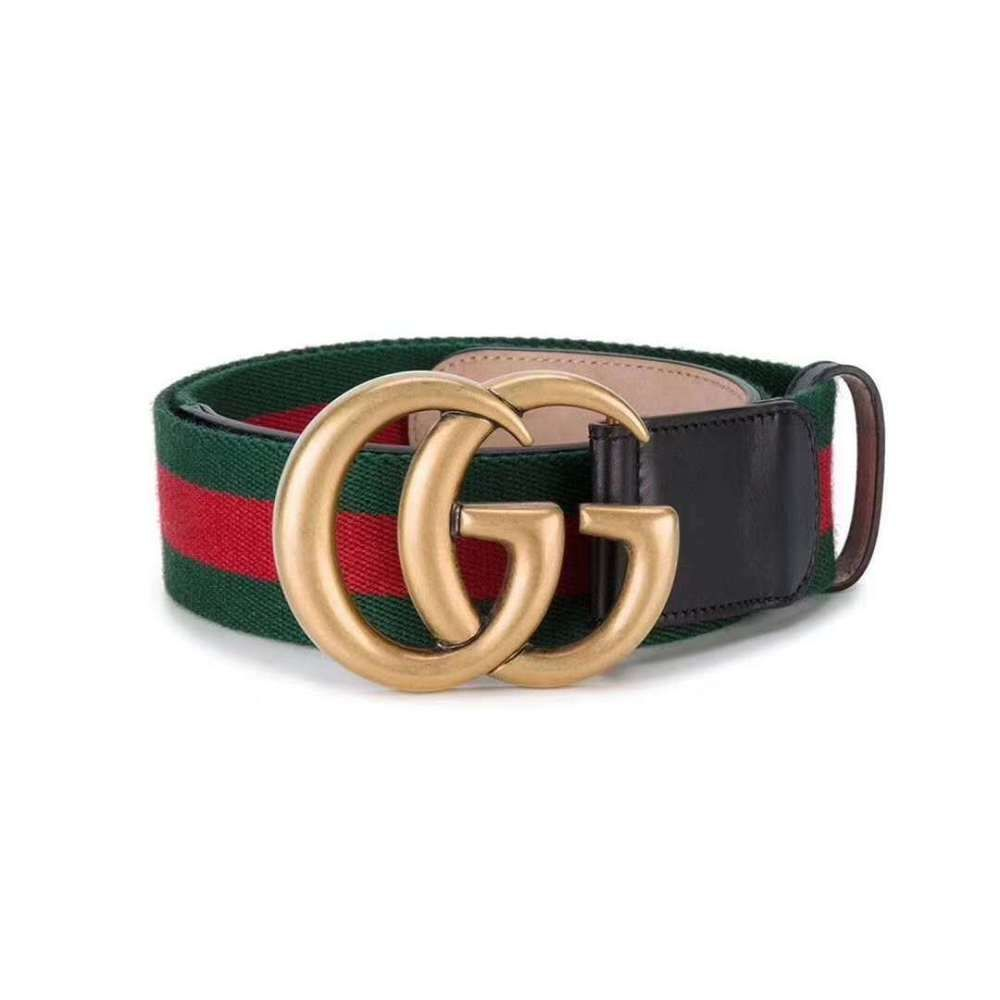 187529efa0b Gucci Women s Metallic Web Belt With Double G Buckle RRP 220  fashion   clothing  shoes  accessories  womensaccessories  belts (ebay link)