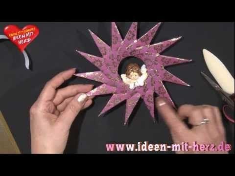 Ideen mit Herz - Origami Stern - Zierstern - YouTube