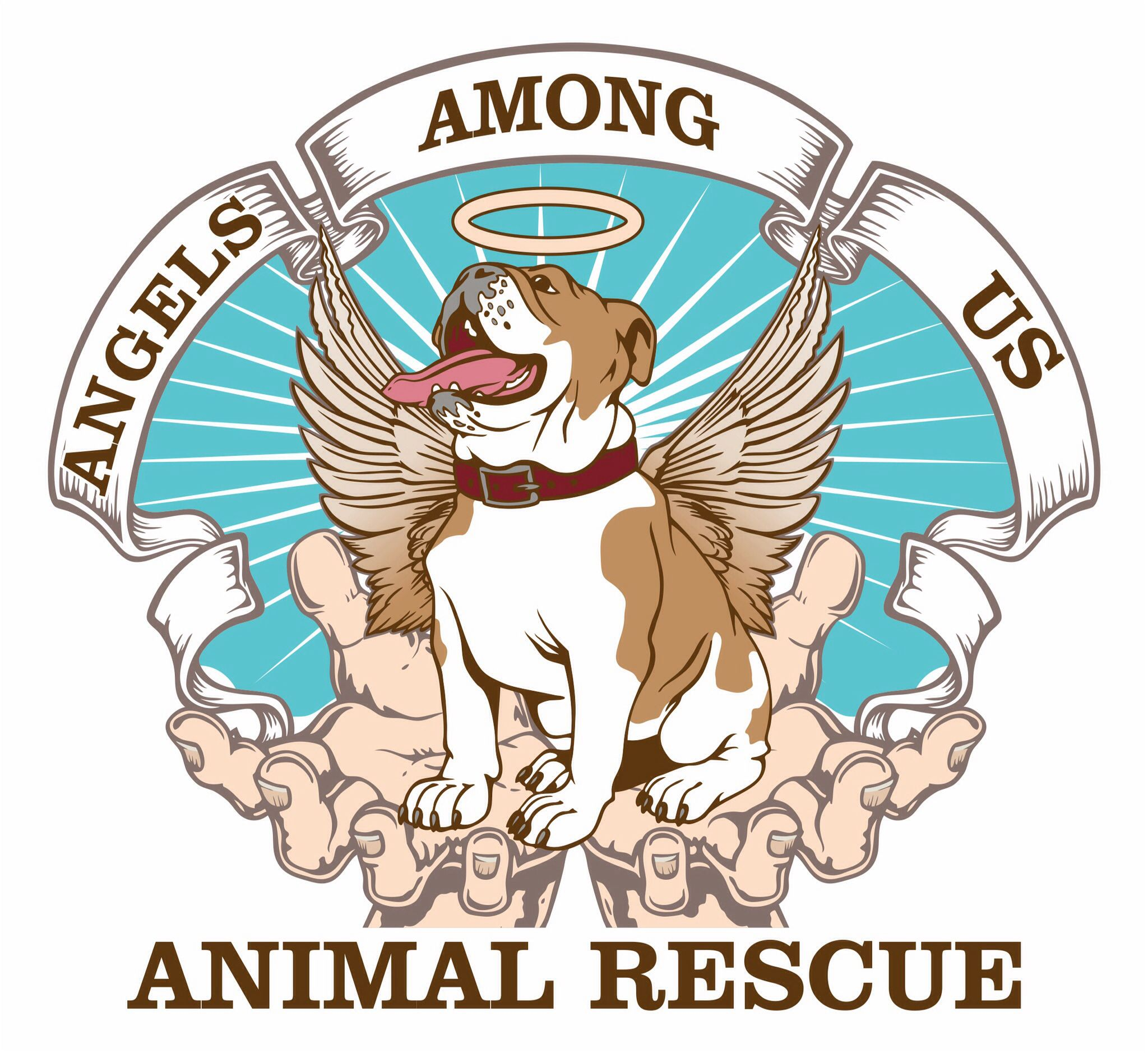 Dogs are angels on earth Animal rescue, Angels among us