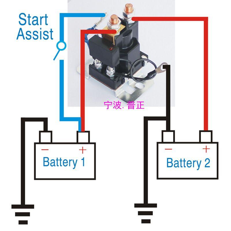 us 500 ap 200 amp battery isolator dual battery auto