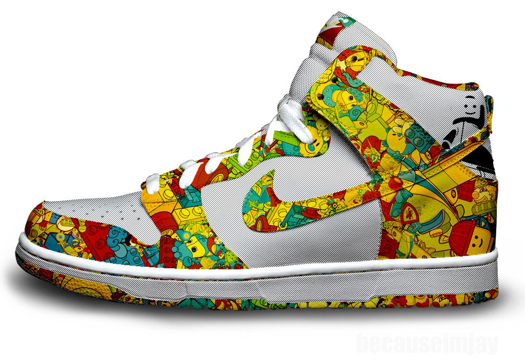 Baskets Nike Lego | Nike shoes, Sneakers, Nike shoes outlet