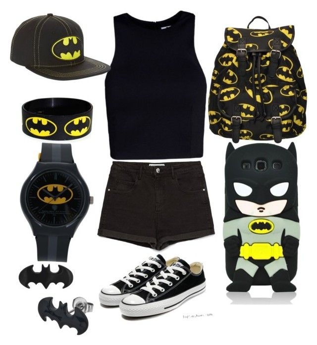 """Batman outfit"" by cherireese on Polyvore"